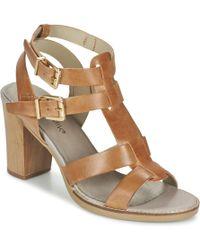 Balsamik - Osfred Women's Sandals In Brown - Lyst