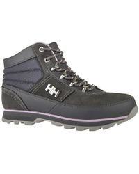 Helly Hansen - Woodlands Charcoal Women's Walking Boots In Multicolour - Lyst