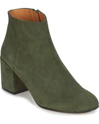 Emma Go - Elna Women's Low Ankle Boots In Green - Lyst