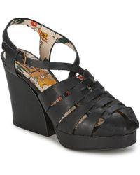 Miss L Fire - Bolero Women's Sandals In Green - Lyst