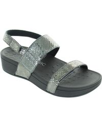 Vionic - Pacific Bolinas Women's Sandals In Silver - Lyst