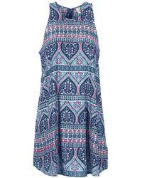 Roxy - Sweet Seas Women's Dress In Blue - Lyst