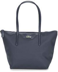 Lacoste - L.12.12 Concept S Women's Shopper Bag In Blue - Lyst