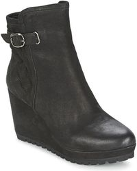 Moda In Pelle - Camelio Women's Low Ankle Boots In Black - Lyst
