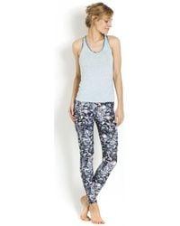 Maaji - Fitness Top Running Grey Recto, Multicolour Verso - Essential G Women's In Grey - Lyst