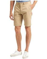 Lyle & Scott - Garment Dye Chino Shorts Men's Shorts In Multicolour - Lyst