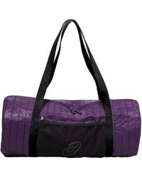 Asics - Training Essentials Foldaway Bag Men s Sports Bag In Purple - Lyst 6c70348dc96b5