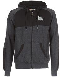 Lonsdale London - Adbury Men's Sweatshirt In Grey - Lyst