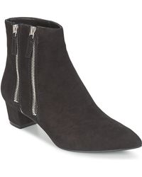 Nine West - Tunica Women's Low Ankle Boots In Black - Lyst