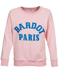 Brigitte Bardot - Anais Women's Sweatshirt In Pink - Lyst