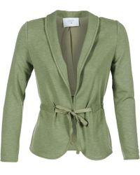 Le Temps Des Cerises - Sillex Women's Jacket In Green - Lyst