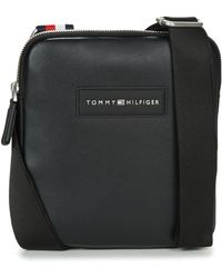 Tommy Hilfiger | Th City Crossbody Men's Pouch In Black | Lyst
