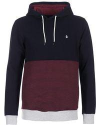 Volcom - 3zy Po Men's Sweatshirt In Black - Lyst