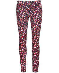 American Retro - Coline Women's Skinny Jeans In Multicolour - Lyst