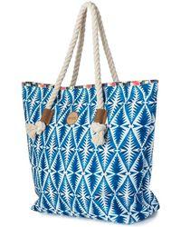 Rip Curl - Beach Bazaar Beach Bag Lsbic4 Women's Shopper Bag In Blue - Lyst