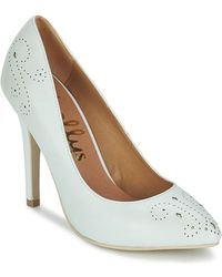 Shellys London - Brazilia Women's Court Shoes In White - Lyst
