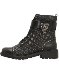 Boots Winter Guess Women's Ankle Boots Leather q4YUwxtgwW