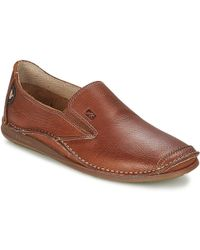 Fluchos - Nautilus Men's Slip-ons (shoes) In Brown - Lyst
