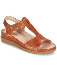 Pikolinos - Cadaques W8k Women's Sandals In Brown - Lyst