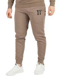 11 Degrees - Men's Core Joggers, Brown Men's Sportswear In Brown - Lyst