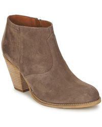 Marc O'polo - - Women's Low Ankle Boots In Brown - Lyst