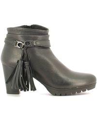 Keys - 1145 Ankle Boots Women Black Women's Mid Boots In Black - Lyst