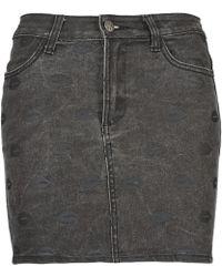 American Retro - Helene Women's Skirt In Grey - Lyst