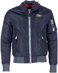 Schott Nyc - Flight 170 Men's Jacket In Blue - Lyst