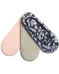 Sperry Top-Sider - Women's Micro Liner Printed Floral Sock - Lyst