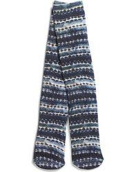 Sperry Top-Sider - Men's Performance Crew Sock Indigo Stripe - Lyst