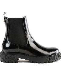 Ferragamo - Varsi Ankle Boot - Lyst