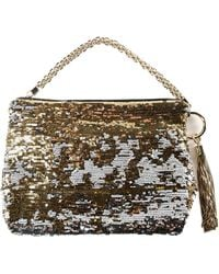Jimmy Choo - Double Faced Sequins Bag - Lyst