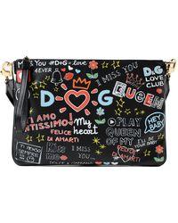 Dolce & Gabbana   Printed Shoulder Bag   Lyst