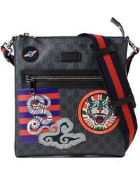 39589ff3e4df89 Gucci Original Gg Canvas Messenger Bag in Black for Men - Lyst