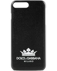 Dolce & Gabbana - Phone Case 7 Dg Milano - Lyst