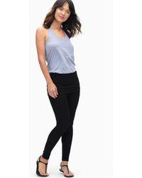 Splendid - Modal Fold Waist Legging - Lyst