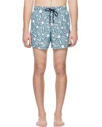 Vilebrequin - Blue Oursinade Moorea Swim Shorts - Lyst