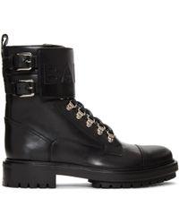 Balmain | Black Ranger Boots | Lyst