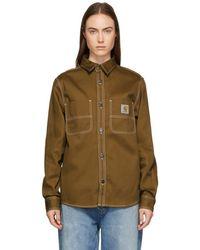 Carhartt WIP - Brown Chalk Shirt - Lyst