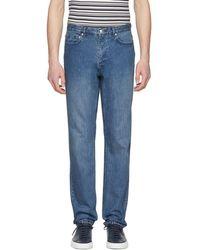A.P.C. - Indigo Baggy Jeans - Lyst