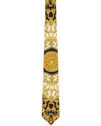 Versace - Multicolor Baroque Tie - Lyst