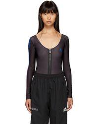 Marcelo Burlon - Black Cm Bodysuit - Lyst