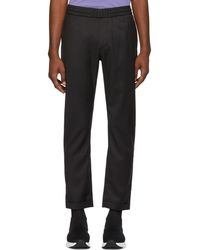 PS by Paul Smith - Black Diamond Drawstring Trousers - Lyst