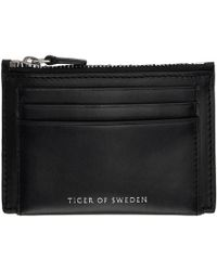 b272d639a8d Tiger Of Sweden - Black Wede Card Holder - Lyst