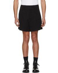 Ann Demeulemeester - Black Harbour Shorts - Lyst