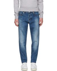 AMI - Blue Carrot Fit Jeans - Lyst