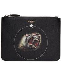 Givenchy - Black Monkey Brothers Pouch - Lyst