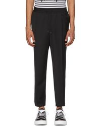 McQ - Black Tailored Track Trousers - Lyst