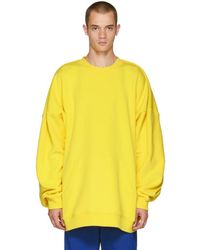 Y. Project - Yellow Panelled Hoodie - Lyst