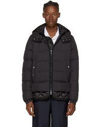 Moncler - Black Down Tanguy Jacket - Lyst